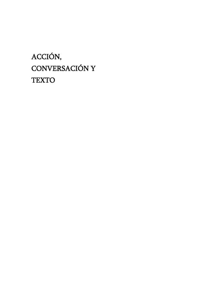 Wells, Gordon - Acción, conversación y texto