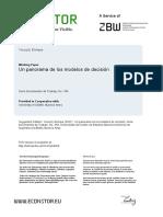 Yacuzzi (2007) - Modelos de Decisión