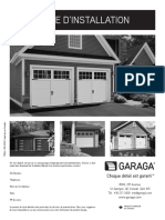 Guide Installation porte de garage Garaga
