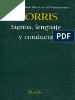 signos, leguaje y conducta... Morris.pdf