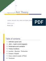 Speech Act Theory (Jarasch Jamai Guemuesh)