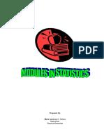 Modules in Stat101