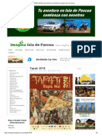 TAPATI 2018 El Gran Festival de Rapa Nui _ Imagina Isla de Pascua