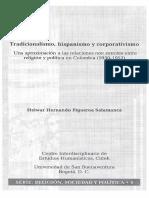 Tradicionalismo, Hispanismo y Corporativismo