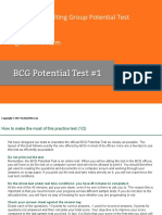 BCG Potential Test 1
