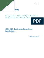 Construction Contracts Mid Term Essay.pdf