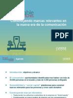 Construyendo marcas relevantes en la nueva era de la comunicación-OCT2010 (Havas Media Intelligence)