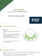 Rheumatology I 03 Connective Tissue Diseases