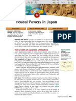 Ch 12 Sec 4 - Feudal Powers in Japan