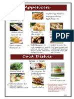 oka 2019 table menu