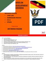 Sarawak Development Legislation Research by Ar Ridha Razak