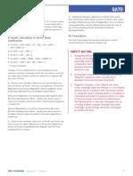 Magnetic Compass Error Calculation 2