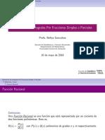 4. Integrales Que Contiene Funciones Racionales Con Polinomios