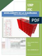 Modelamiento Del Edificio de Albañileria