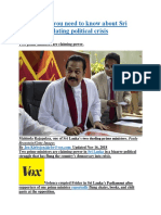 Here's what you need to know about Sri Lanka's escalating political crisis.docx