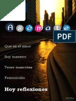 Revista Octubre Asomate