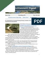 Pa Environment Digest Nov. 26, 2018