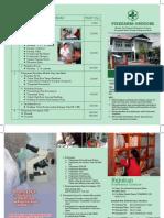 Leaflet Jenis Dan Jadwal Pelayanan