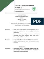 8. 5 3 2 Sk Penanggung Jawab Pengelolaan Keamanan Lingkungan Fisik Puskesmas