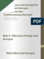 Topik Khusus Anti Korupsi II