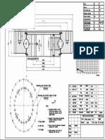 WCB 061.20.0414 Swing Circle Gear Turntable Slewing Ring Bearing