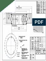 WCB 061.20.0544 Swing Circle Gear Turntable Slewing Ring Bearing