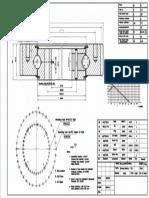 WCB 061.20.0844 Swing Circle Gear Turntable Slewing Ring Bearing