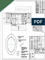 WCB 061.20.0744 Swing Circle Gear Turntable Slewing Ring Bearing