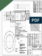 WCB 062.20.1094 Swing Circle Gear Turntable Slewing Ring Bearing