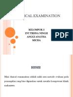 Mini Clinical Examination