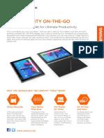 YOGA Book Android Datasheet En