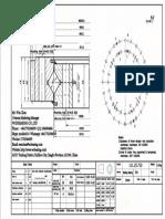 WCB 111.25.710 Swing Circle Gear Turntable Slewing Ring Bearing