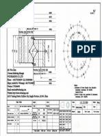 WCB 111.25.560 Swing Circle Gear Turntable Slewing Ring Bearing
