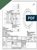 WCB 111.28.1000 Swing Circle Gear Turntable Slewing Ring Bearing