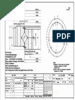 WCB 111.32.1800 Swing Circle Gear Turntable Slewing Ring Bearing