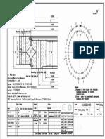 WCB 113.32.1400 Swing Circle Gear Turntable Slewing Ring Bearing