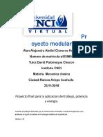 Proyecto Modular ,Mecanica Clasica
