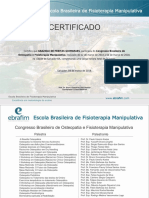 Congresso Brasileiro de Osteopatia e Fisioterapia Manipulativa