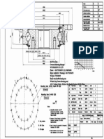 WCB 232.20.0644 Swing Circle Gear Roller and Ball Turntable Slewing Ring Bearing