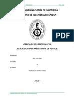 Informe de Ciencias de Materiales