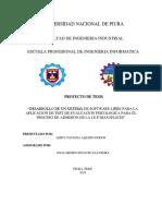 """""""DESARROLLO DE UN SISTEMA DE INFORMACION PARA EL PROCESO DE ADMISION DE LA I.E.P DIAS FELICES PIURA-PERU 2018"""" - corregido"""