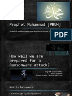 How Well We Are Prepared for a Ransomware Attack?