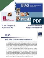 314316450 Descripcion Escalas de Inteligencia de Reynolds RIAS PDF Converted