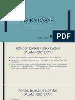 FISIKA DASAR (Nurul Fajriah)