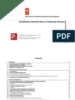 Programme Architectural Technique Et Détaillé