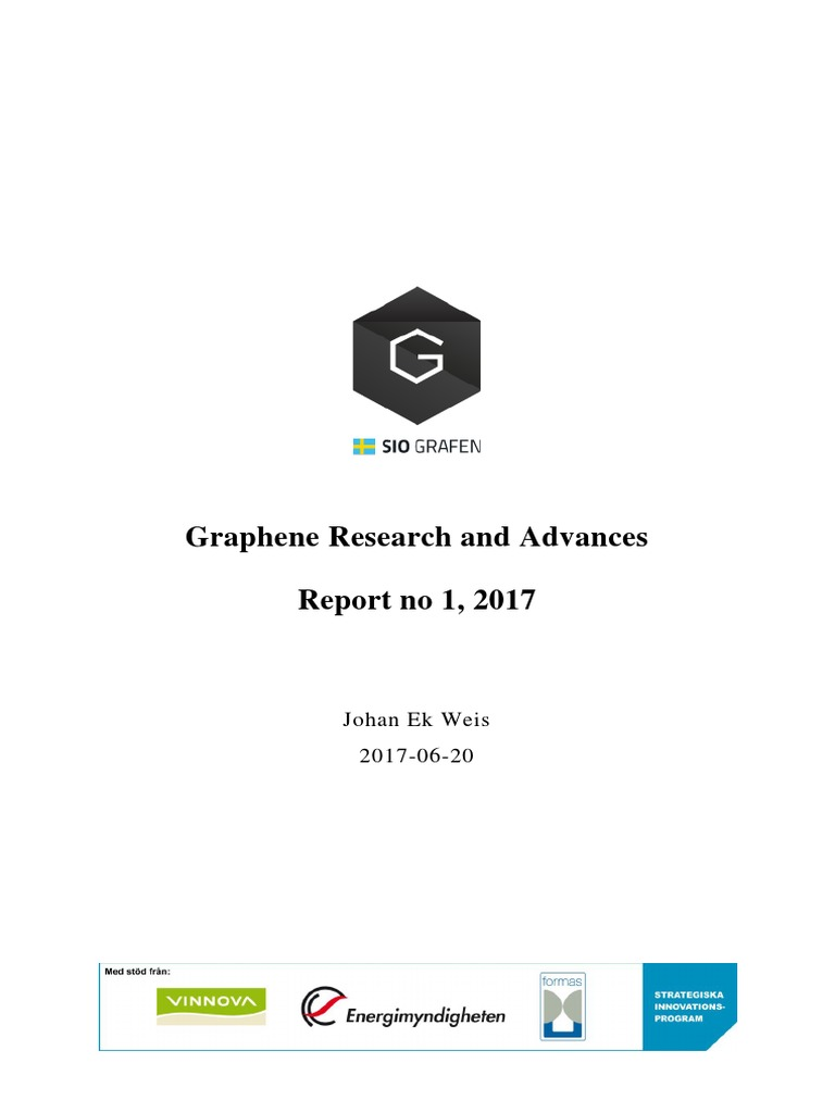 Research Intelligence Siografen 2017-1 | Graphene | Chemical