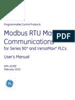 GE90 Modbus RTU Master