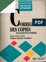 Corriger Des Copies, Evaluer Pour Former