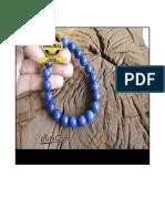 Gelang Batu Lapis Lazuli Asli, 08-778189-4000