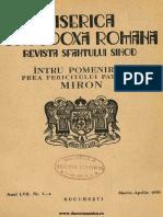 1939 Martie-Aprilie BOR - Jurnal Ecleziastic